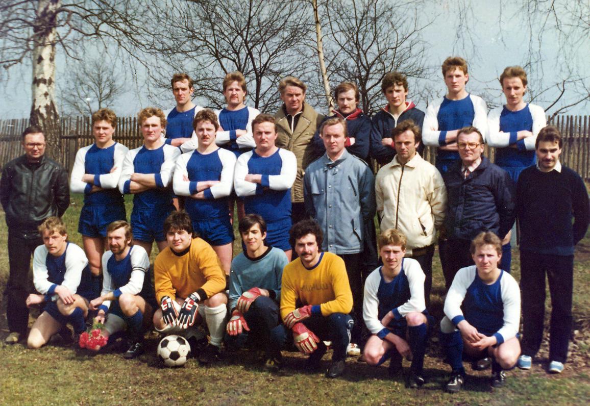 1. Männermannschaft - 1986