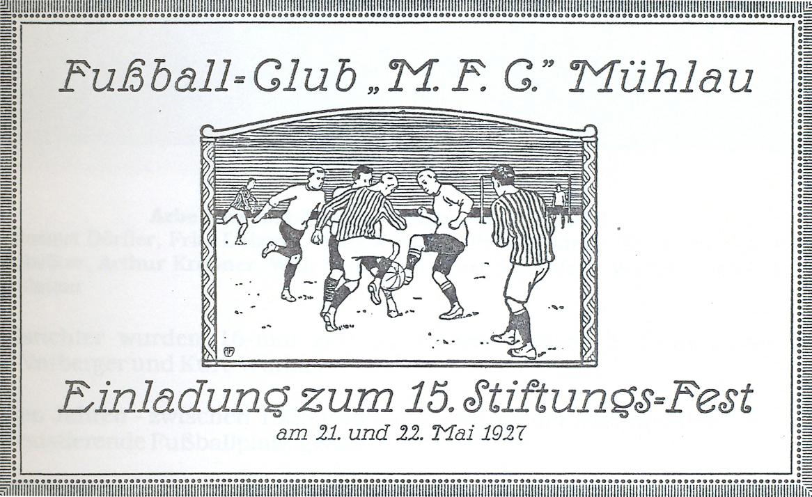Einladung 1927